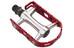 XLC Ultralight V PD-M15 Pedał MTB/ATB czerwony/srebrny